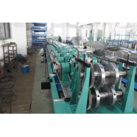 China Post Cutting Interchangeable CZ Purlin Roll Forming Machine 7.5KW 5 Ton Decoiler wholesale