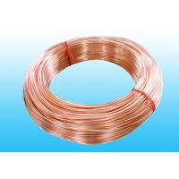 China Low Carbon Copper Coated Bundy Tube 6.35mm X 0.6 mm GB/T 24187-2009 wholesale