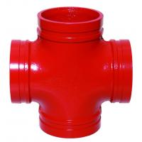 China Professional Cross Ductile Iron Pipe Fittings  Integral Gluing PN10/16 on sale