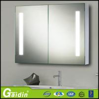 China Mirrored Cabinets Type bathroom mirror cabinet with light wholesale