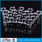 China Factory directly acrylic shot glass tray,most popular product clear acrylic shot glass tray ,acrylic serving tray wholesale