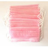 China Disposable Personal Pink Disposable Hair bonnets For Tattoo Accessories , Semi Permanent Makeup wholesale