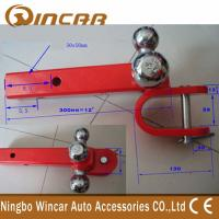 China Steel Material Tri - Ball Hitch Mount With U Clevis 4x4 Off Road Car Accessories wholesale