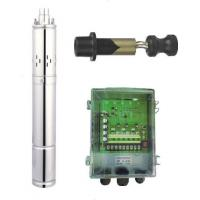 China 24V DC Deep Well Submersible Screw Pump , Solar Powered Water Pump For Irrigation wholesale