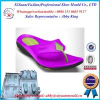China New bi-color High Quality Man EVA Flip Flops Slipper mold wholesale
