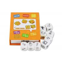 China Young Childrens Board Games Telling Story Imagination With Dices Gloss Lamination wholesale
