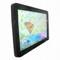 China 55-inch 10 touch points wall-mount 1920 x 1080 toughened glass touchscreen LED monitor wholesale