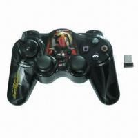 China 2.4GHz Wireless Computer Game Controller with Low Power Consumption wholesale