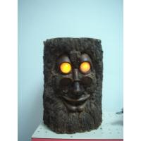 China GhosTree Epoxy Resin Crafts Garden Decorative Statue Stump with Glasses   wholesale