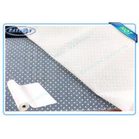 Quality 160cm-240cm White or Grey PP Non Woven Fabric With PVC Dot Used as Sofa or for sale