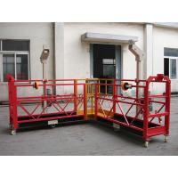 China 90 Degree Red Steel Rope Suspended Window Washing Platform Cardle 3KW × pcs on sale