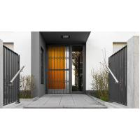 Quality 6063 - T5 Aluminum Framed Decorative Security Doors Powder Coating for sale
