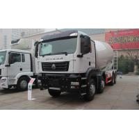 China 12 Wheels Concrete Mixer Truck 10 Cubic Meter 371hp 8X4 White wholesale