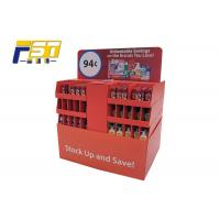 China Oil Coating PDQ Pallet Display Convenient Bumping - Proof For Cleaning Products wholesale