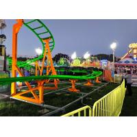 China 12 Seats 380V Kiddie Roller Coaster With Ethnic Characteristics Decoration wholesale