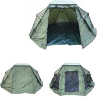 China 210D PU coating Oval shelter Carp Fishing Tent With ground pegs wholesale