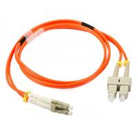 Buy cheap LC / UPC - SC / UPC Multimode Fiber Patch Cord for OM2 Fiber Jumper Cable 50/125 from wholesalers