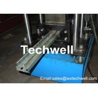 China Galvanized Coil or Carbon Steel Upright Rack Roll Forming Machine for 1.5-2.0MM Thickness Rack Upright wholesale
