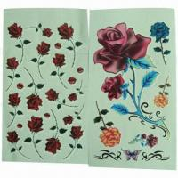 China Tattoo Stickers, Safe and Nontoxic, Easy to Apply and Remove, OEM and ODM Orders are Welcome wholesale