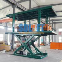 Buy cheap Platform Hydraulic Double Deck Car Parking System , Underground Garage Car from wholesalers