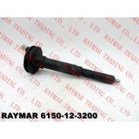 Buy cheap KOMATSU Genuine diesel fuel injector assy 6150-12-3200, 6150-12-3210 for PC400-6 excavator from wholesalers
