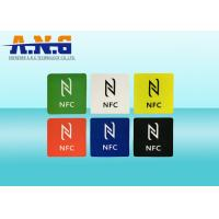Contactless 13.56Mhz HF Rfid Tags Ntag216 Ntag215 For Mobile Phone