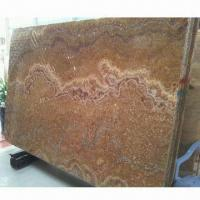 China Yellow Onyx Book Match Stone, Excellent/Good as Wall Decoration, Measures (H x W) 240 x 143cm wholesale