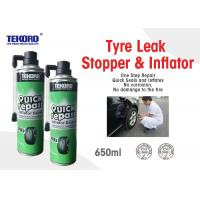 China Tyre Leak Stopper & Inflator For Sealing Tyre Punctures And Providing Enough Inflation wholesale