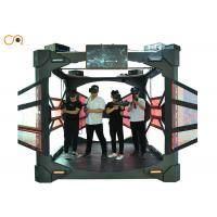 China Small Space 4 Players Virtual Reality Simulator With Interactive Shooting Game Machine wholesale