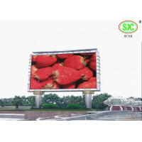 China High Definition giant Outdoor Led Billboards for exhibition / sporting events 6500K - 9500K wholesale