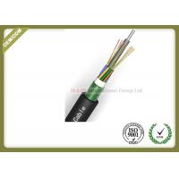 China 24~144 Core Fiber Optic Outdoor Cable With Armoured Metallic Strength Member wholesale