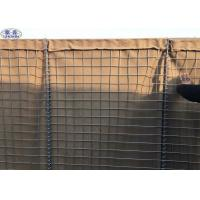China Army Sand Filled Barriers Welded Wire Mesh Box 75mm x 75mm 76.2 x 76.2mm wholesale