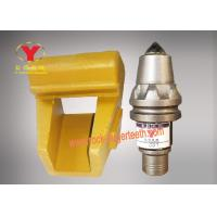 Quality Holder Foundation Drilling Tools, Alloy Steel Coal Cutter Picks For Hard Work for sale