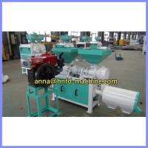 China corn grit making machine with diesel, rice milling machine wholesale