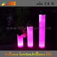 China Exhibition / Event Illuminated Garden Planters , Outdoor Lighted Flower Pots wholesale