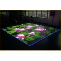 China SMD 3535 Pixel 10mm Led Screen Dance Floor Hire 320mm x 320mm Module wholesale