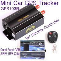 China GPS103B Remote Control Car Vehicle Truck GPS Tracker Real Time GPS Tracking Locator System W/ Cut-off oil & power by SMS wholesale