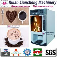 China lever coffee machine Bimetallic raw material 3/1 microcomputer Automatic Drip coin operated instant wholesale