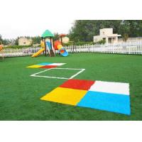 Buy cheap Safety Kindergarten Flooring / 3 /1 6'' Artificial Grass Landscaping from wholesalers