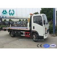 China Right Hand Drive Howo 4 x 2 Wrecker Tow Trucks For Car Transporter wholesale