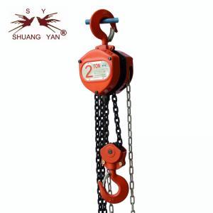 China HSZ-C Series  2 Ton * 1.5 Meter Mini Suspending Hand Chain Hoist wholesale