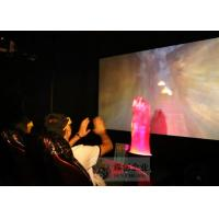 Buy cheap Large Screen 5D Movie Theater , Amazing Special Effect 6 Dof Hydraulic System from wholesalers