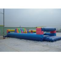 China Durable Commerical grade inflatable obstacle course , PVC Inflatable Amusement Park Toy wholesale