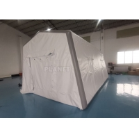 China 0.6mm PVC Air Sealed Inflatable Hospital Tent For Quick Rescue wholesale
