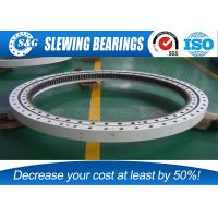 China External Gear Four Point Contact Ball Bearing Rings For Port Machinery wholesale