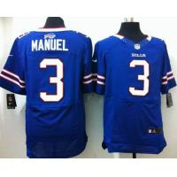 China Nike NFL Buffalo Bills 3 Manuel Elite Jerseys wholesale