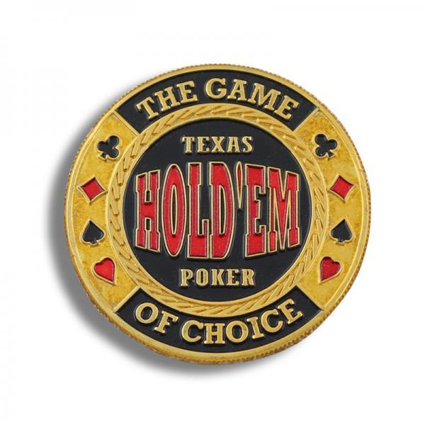 casting colored poker souvenir metal plate