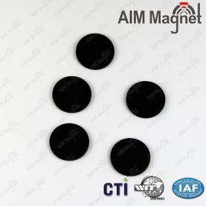 China D20*2mm black epoxy coated neodymium magnets wholesale