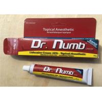 China 10% Lidocaine 30G Dr Numb Tattoo Anesthetic Cream Numbing Cream For Body Tattoo on sale