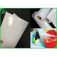 China Double Side Coated White RC Inkjet Photo Paper For Printing Poster on sale